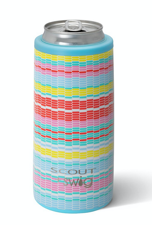 SCOUT+Swig Good Vibrations Skinny Can Cooler (12oz)