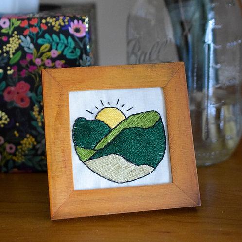 Shenandoah Sunrise Beginners Embroidery Kit