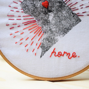DC Has My Heart || Meet My First Embroidery Kit