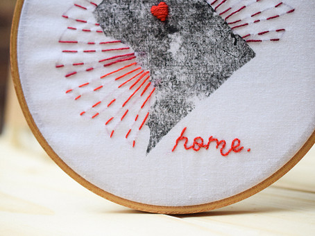 DC Has My Heart    Meet My First Embroidery Kit