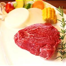 『梶岡牛』ランプステーキ