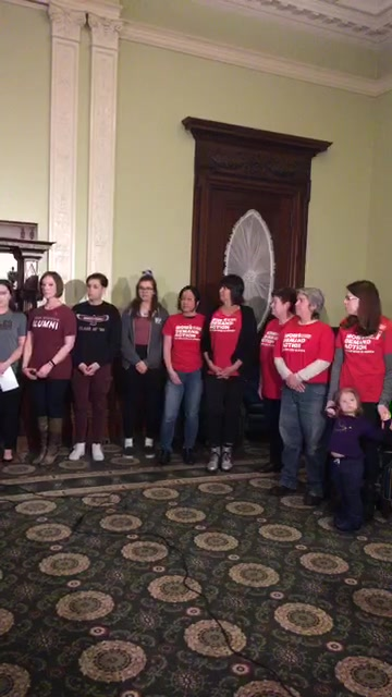 Marjory Stoneman Douglas alumni in Massachusetts share why they support an Extreme Risk Protective Order. #neveragain #msdstrong