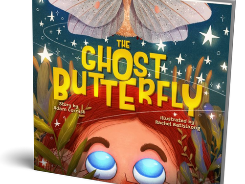 The Ghost Butterfly - Coming Soon!
