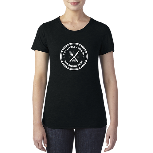Woman's black T-Shirt