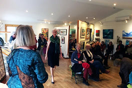 Fashion Show at the Galerie Old Chelsea