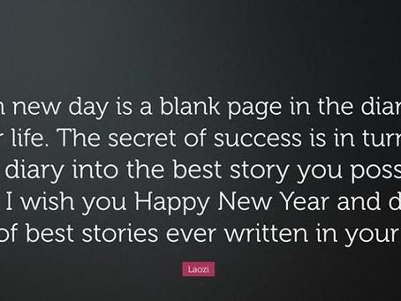 Monday Motivation - New Year's Edition