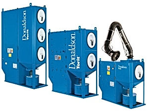Donaldson Dust Collectors, Bag Houses, Cartridge and Bag Filters