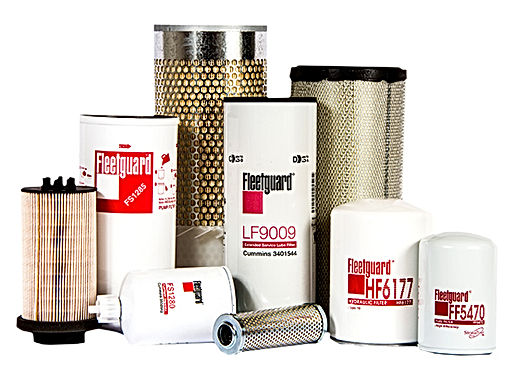 We are Full Line Dealers for Fleetguard and Cummins Filtration.