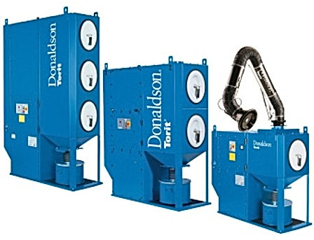 Donaldson Dust Collectors, Dryers, Scrubbers, Industrial Solutions & Filtration.