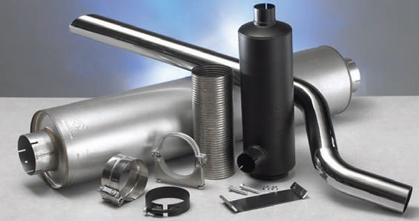 Donaldson Exhaust Accessories for Medium & Heavy-Duty vehicles and equipment.