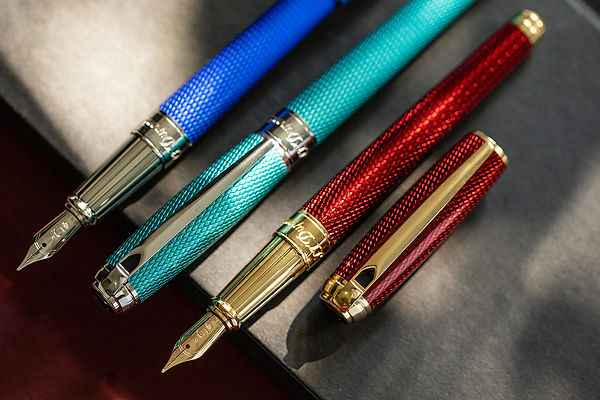 S.T. Dupont Diamond Guilloche Pens
