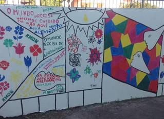 """""""Flor de Guernica"""" é inspiração para trabalho com arte na escola"""