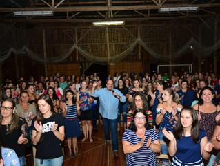 Escritor Pablo Morenno palestrou na abertura do ano em Bom Retiro do Sul