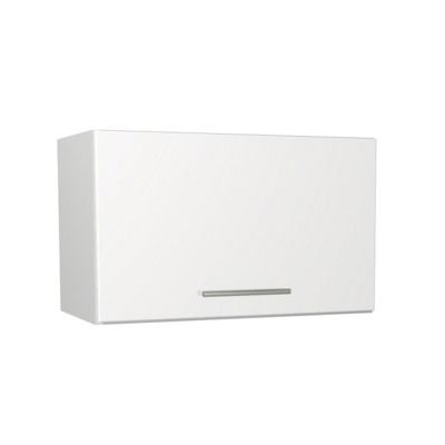 White Gloss Kitchen Slim Wall Unit - 600mm