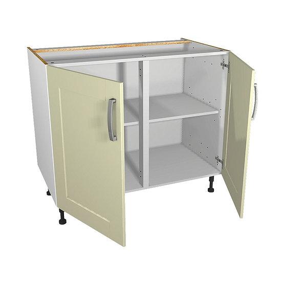 Cream Kitchen Base Unit 1000mm