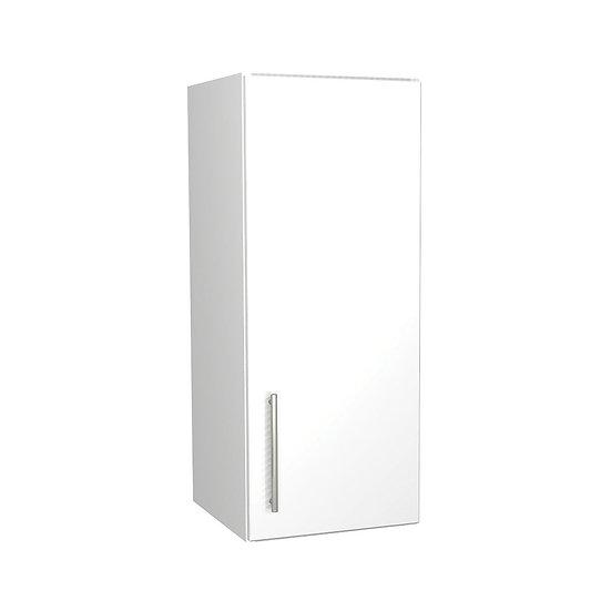 White Gloss Kitchen Wall Unit - 300mm