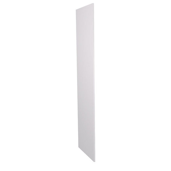 White Mat Kitchen Tall Unit End Panel