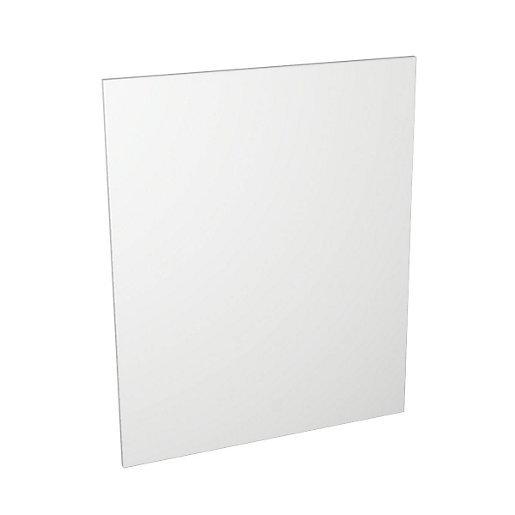 White Matt Kitchen Appliance Door 600mm x 731mm