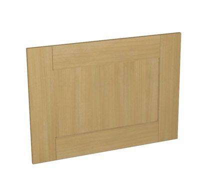 Oak Effect Kitchen Appliance Door  600mm x 437mm