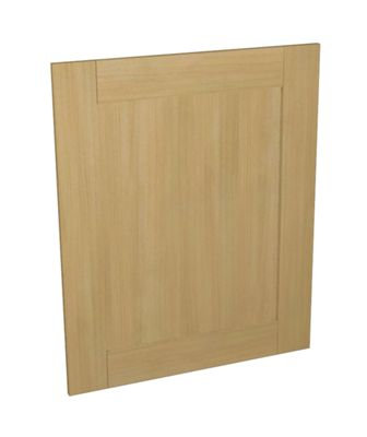 Oak Effect Kitchen Appliance Door 600mm x 731mm