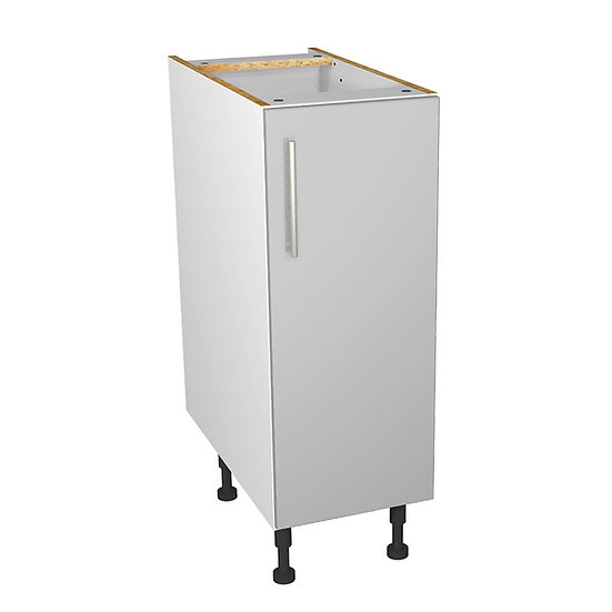 Grey Gloss Kitchen Base Unit - 300mn