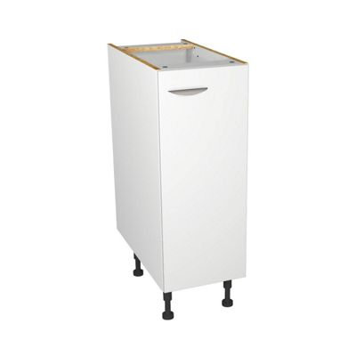 White Matt Kitchen Base Unit - 300mn