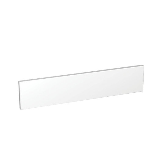 White Gloss Kitchen Appliance Door 600mm x 131mm