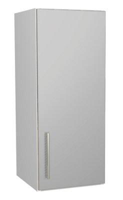 Grey Gloss Kitchen Wall Unit - 300mm