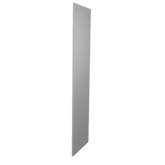 Gloss Grey Gloss Kitchen Wall Unit End Pane