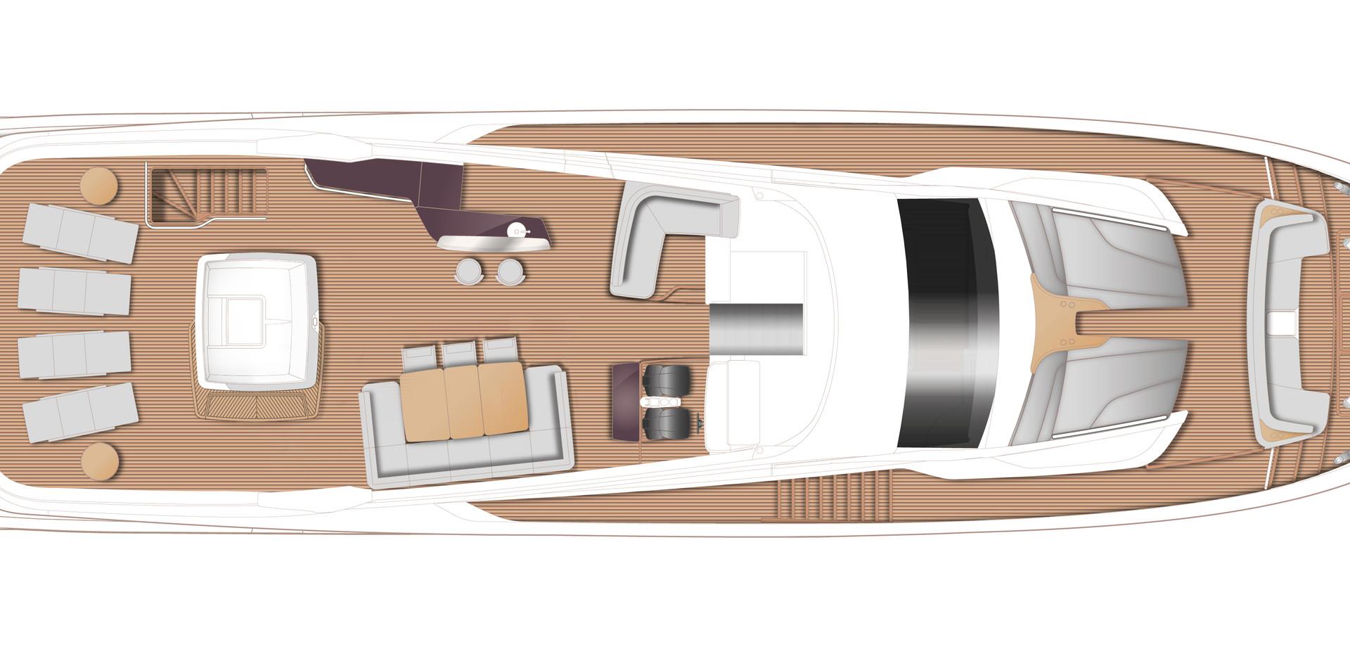 y95-layout-flybridge-optional-spa-bath-a