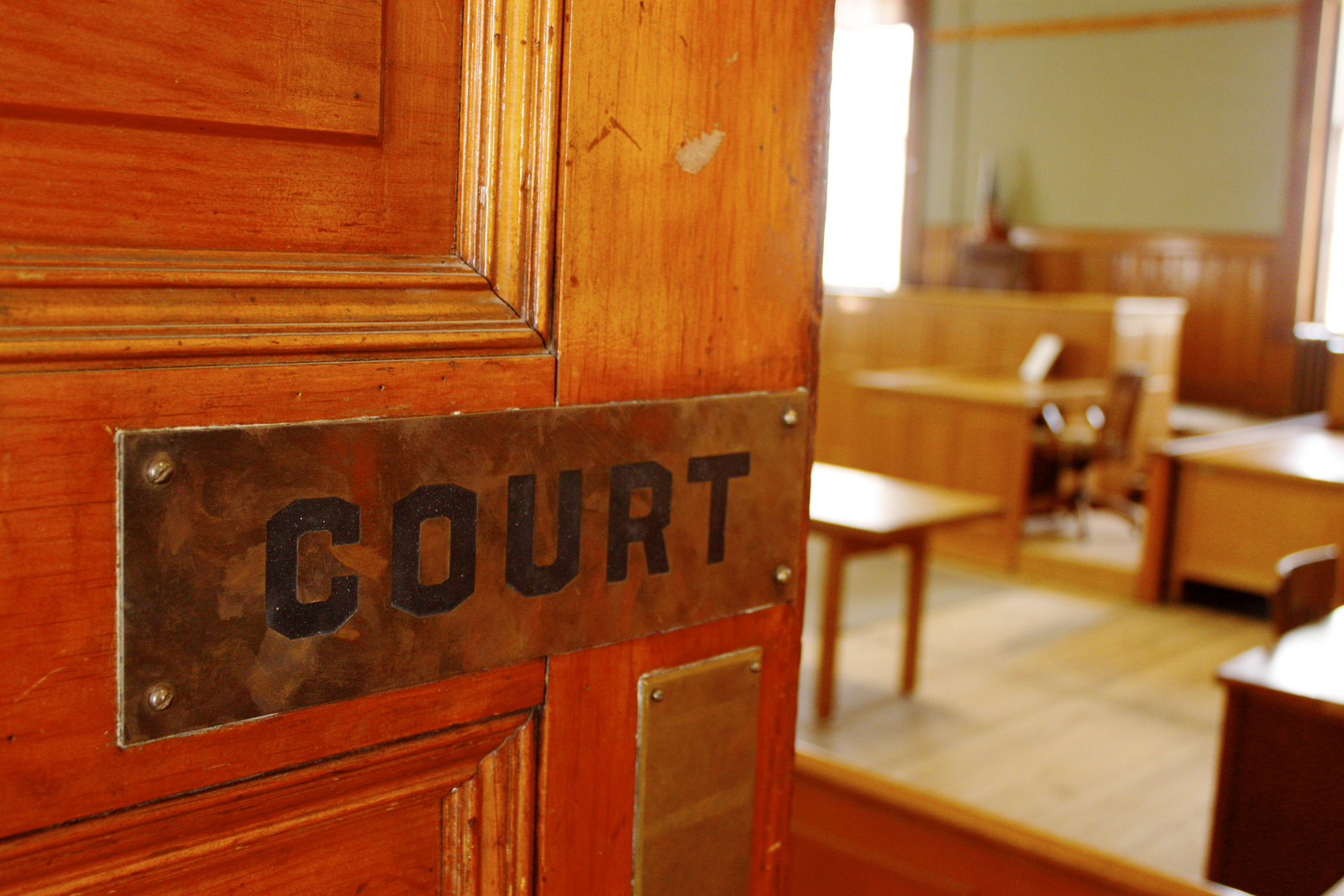 court-door