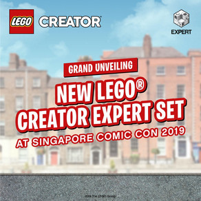 LEGO Exclusives auf der Singapore - Comic Con 2019 Creator Expert Set wow
