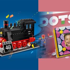 LEGO Shop Gratis Zugabe - Jubiläums-Lok und Dots Bilderrahmen!