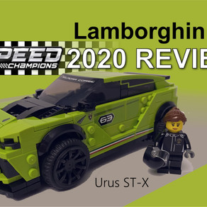 LEGO 76899 - Speed Champion Lamborghini Urus ST-X   #2 im Review