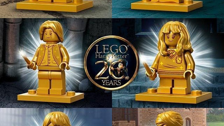 NEWS!!! LEGO Harry Potter golden minifigs officially revealed by Wizarding World