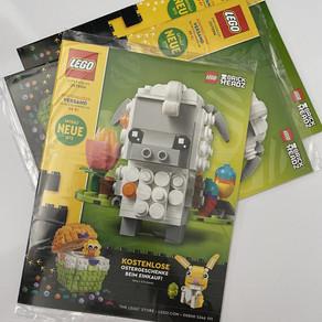LEGO Shop@Home Oster Katalog März 2020 lag heute in der Post