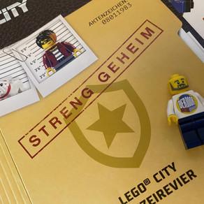 LEGO City - STRENG GEHEIM - LEGO City Polizeirevier? Aktenzeichen 08011983