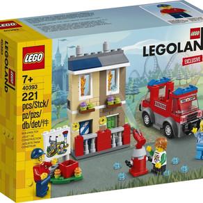 Die neue LEGO Feuerwehrschule 40393 im Legoland 2020