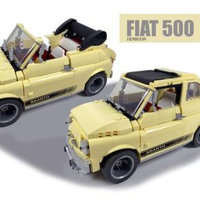 LEGO 10271 Creator Expert - Fiat 500 Abarth - Lim und Cabrio