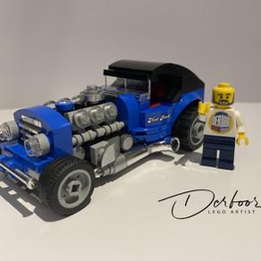 LEGO Hot Rod 40409 kleines Tuning zum nachbauen.