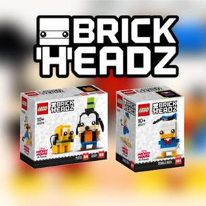 Disney BrickHeadz ab dem 01. Februar 2020