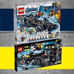LEGO Super Heroes - Marvel und DC Sets 2020