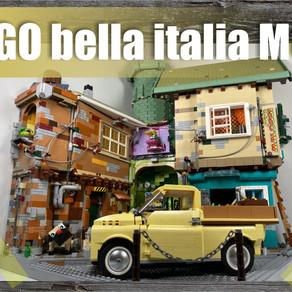 Bella Italia 2020 - Diorama mit Fiat 500 Pritsche (Making-of auf über 170 Bildern)