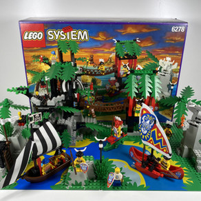 LEGO 6278/6292 Die Verzauberte Schatzinsel im Classic Review