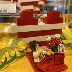 KÖLLE ALAAF YOU!  :-) mit Herz im Kölner LEGO Store