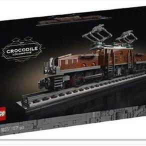 "LEGO 10277 Das ""CROCODILE"" da freuen sich die Eisenbahnfans"