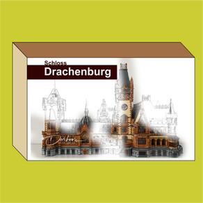 LEGO MOC Schloß Drachenburg - Königswinter - Making-of mit über 350 Bildern
