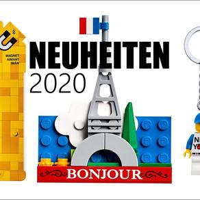 LEGO Neuheiten 2020 New York - Frankreich und Minifiguren!