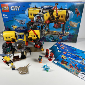 LEGO City 60265 Meeresforschungsbasis im Review