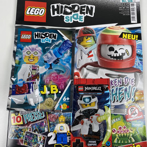 LEGO Hidden Side Magazin Nr. 6 : Ausgabe - Juni/Juli 2020 im Review